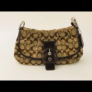 Coach signature jacquard Handbag